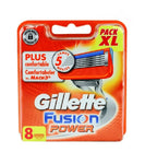 Gillette Fusion Power Plus Comfortable Replacement Cartridges 8-pack