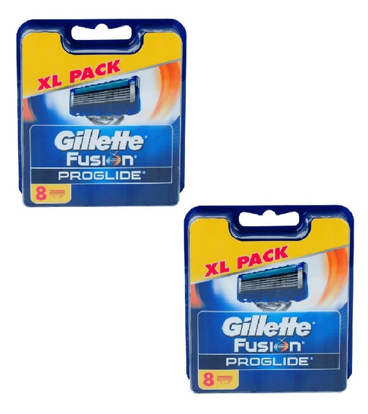 2xPack Gillette Fusion ProGlide Replacement Blades - 16 Cartridges