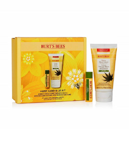 BURT'S BEES Hemp Hand and Lip Care Set