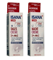 ISANA Med Urea 5% Day & Night Cream Set for Very Dry Skin