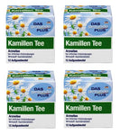 4x Pack Das Gesunde Plus Camomile Tea - 48 Bags - Eurodeal.shop