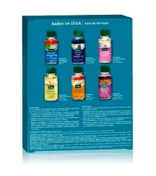 Kneipp 'Bathing in Luck:Body care Set for Ladies and Gentlemen - 6 Bath Oils