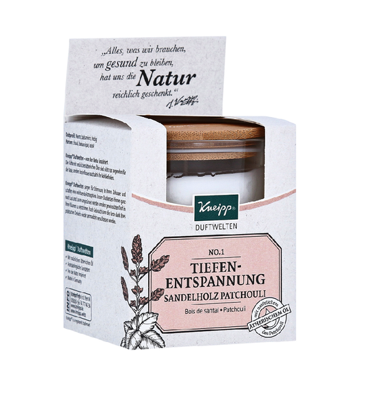Kneipp Fragrance Worlds Scented Candles - Three Different Scents to Select