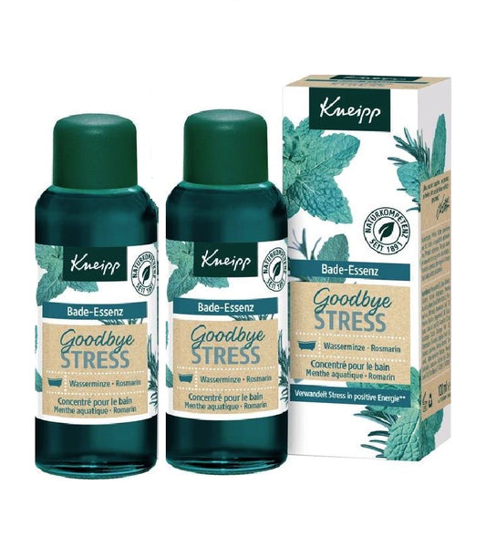 2xPack Kneipp Bath Essence 'Goodbye Stress' Rosemary & Mint - 200 ml