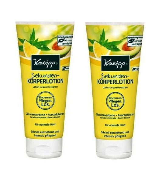 2xPack Kneipp Seconds Body Lotion - 400 ml