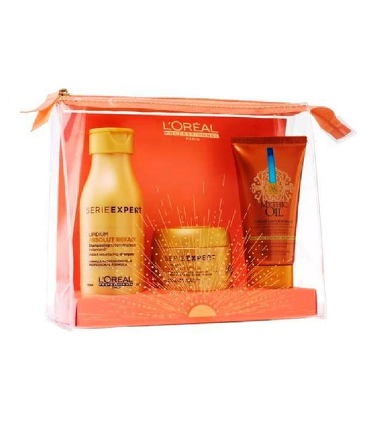 L'ORÉAL Series Expert Absolut Hair Repair Lipidium Travel Gift Set