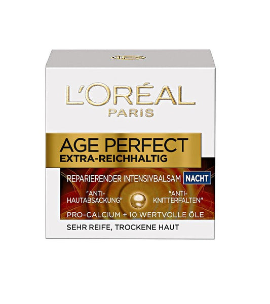 "L'Oréal Paris Age Perfect Extra Rich Repairing Intensive ""Night"" Care Cream - Eurodeal.shop"
