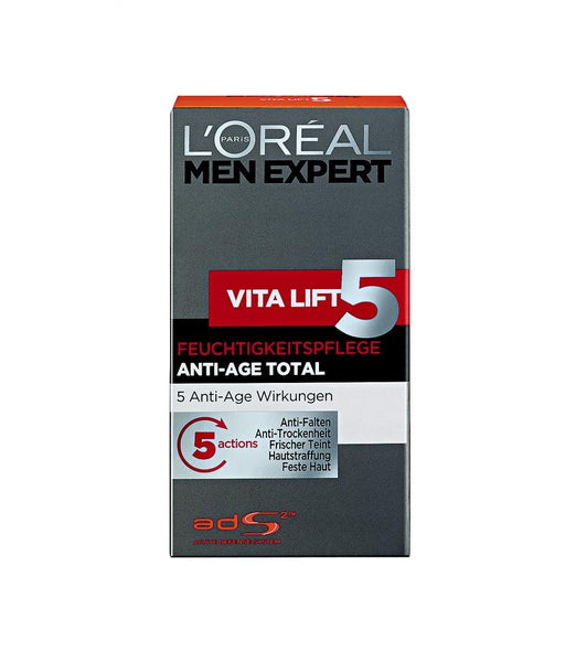 L'Oreal Paris Men Expert Vita Lift 5 Moisturizer Anti-Age Total 50 ml - Eurodeal.shop