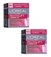 "2x Packs L'Oreal Paris Revitalift Laser X3 Anti-Age Intensive Care ""Day"" - 15 ml each - Eurodeal.shop"
