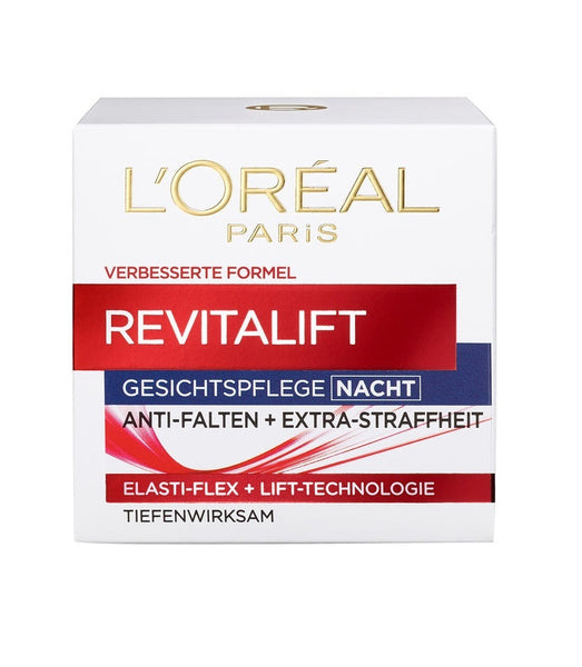 "L'Oreal Paris Revitalift Face Care ""Night"" Cream - 50 ml - Eurodeal.shop"