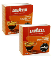 2xPack LAVAZZA Delizioso Coffee Capsules for Modo Mios Machines - 72 Capsules