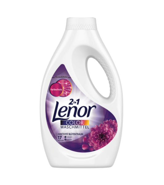Lenor Laundry Washing Liquid 'AMETHYST FLOWER DREAM' 17 WL
