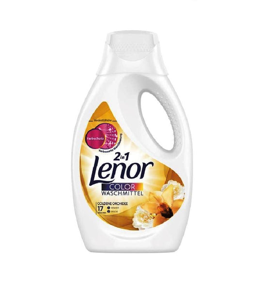 Lenor Laundry Washing Liquid 'GOLDEN ORCHID' 17 WL