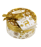 Lindt Xmas Gold Pieces Round Box - 140 g