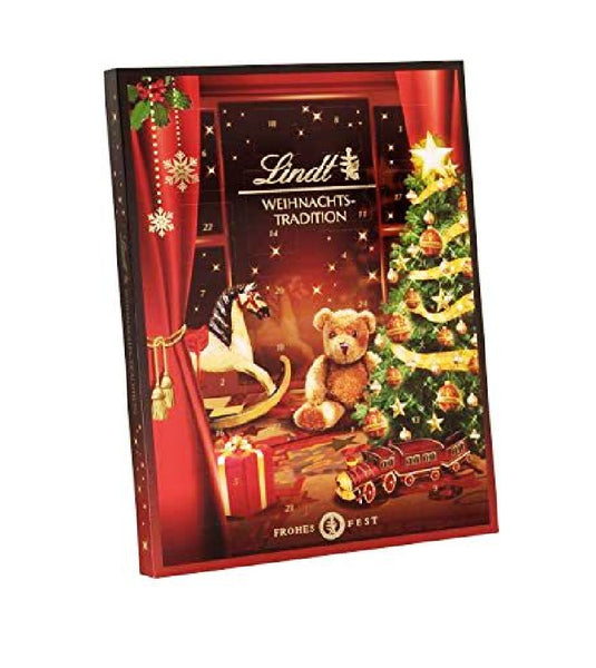 Lindt Christmas Tradition, Exquisite Chocolates & Mini Chocolate Figurines, 250g - Eurodeal.shop