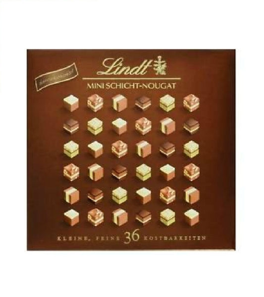 Lindt Chocolates Layer Nougat, 36 Mini Pralinés, 165g - Eurodeal.shop