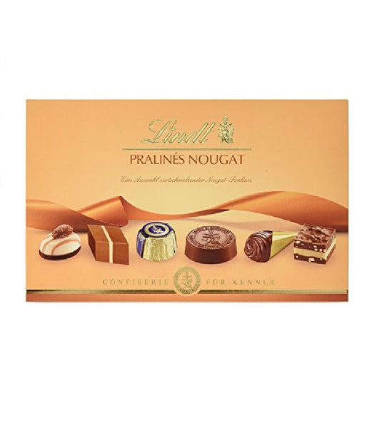2X Packs of LINDT NOUGAT PRALINES - Best Swiss Chocolates! - Eurodeal.shop