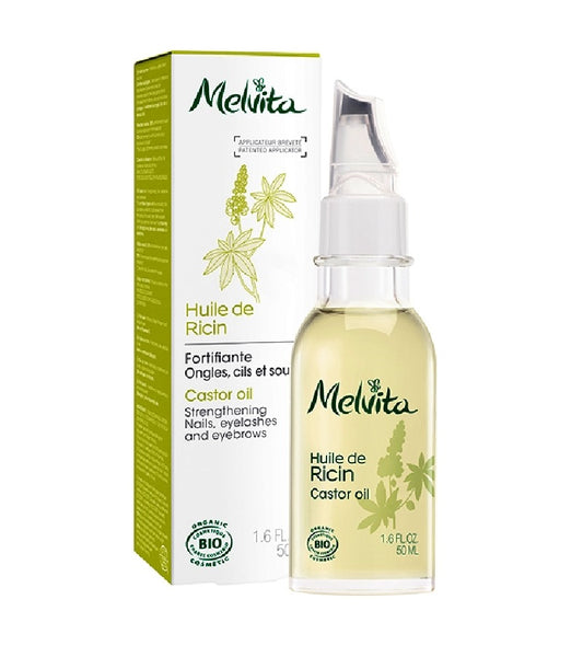 MELVITA ORGANIC CASTOR FAVE & BEAUTY OIL - 50 ml