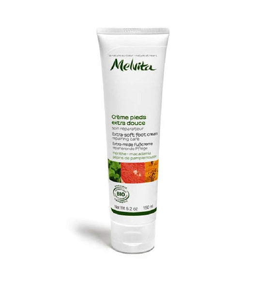 Copy of Melvita ORGANIC FOOT CREAM LES ESSENTIELS - 150 ml
