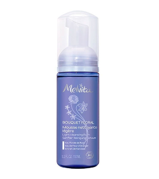 Melvita ORGANIC FACE CLEANSING FOAM FLORAL BOUQUET - 155 ml