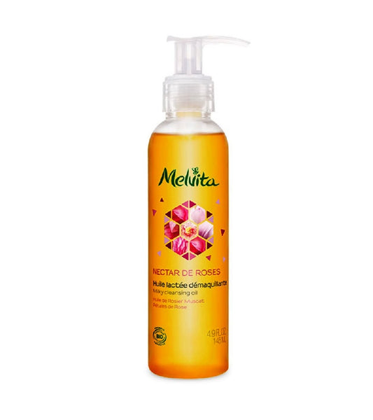 Melvita MILKY ORGANIC ROSE MAKE-UP OIL - 145 ml