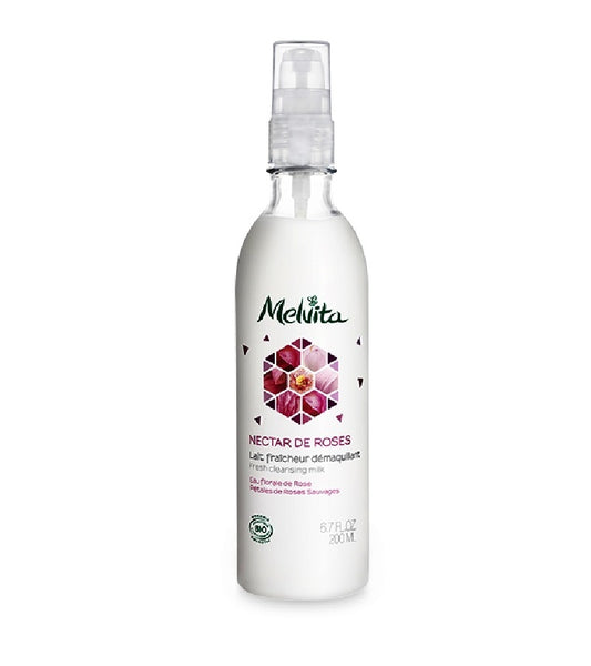 Melvita Organic Rose Micellar Cleansing Milk - 200 ml