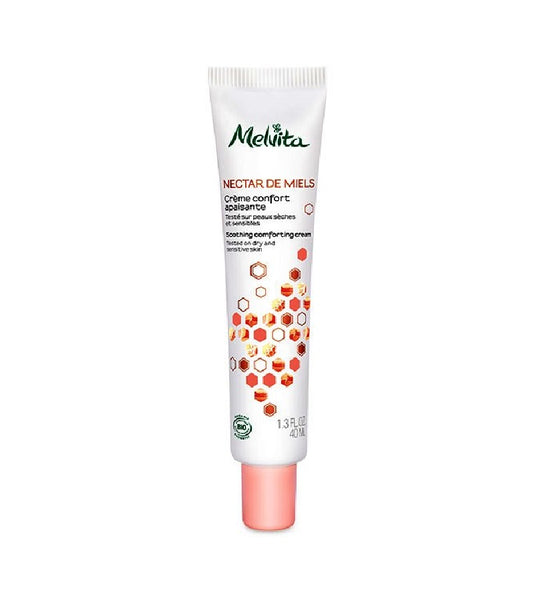 Melvita Nourishing and Soothing Facial Fluid for Sensitive Skin