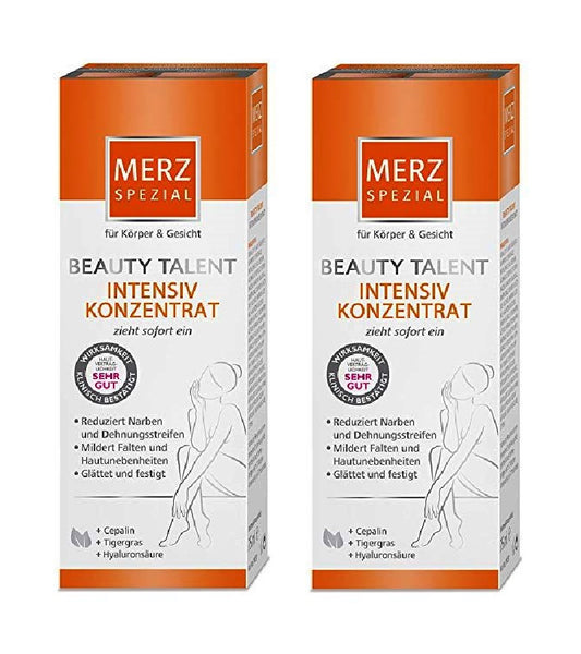2xPack Merz Special Beauty Talent Intensive Conentrate with Collagen