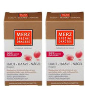 2xPack Merz Special Dragees for Healthy Skin Hair and Nails