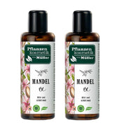 2xPack Müller Plant Cosmetics  Almond Oil - 200 ml