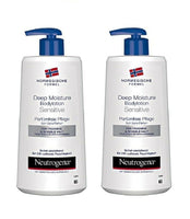 2XPack Neutrogena Norwegian Formula Deep Moisture Body Lotion Sensitive - 800 ml