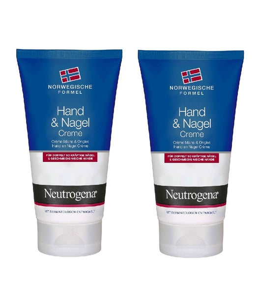 2xPack Neutrogena Norwegian Formula Hand and Nails Cream - 150 ml