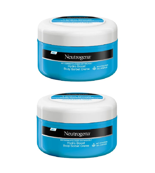 2xPack Neutrogena Hydro Boost Body Sorbet Cream - 400 ml