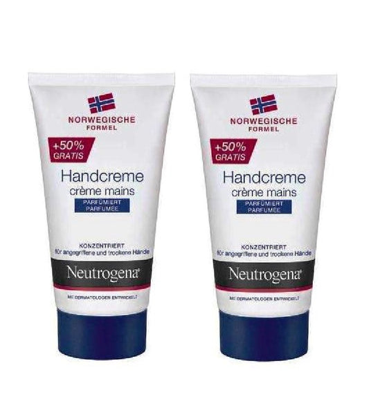 2xPack Neutrogena Norwegian Formula Perfumed Hand Cream - 100 ml