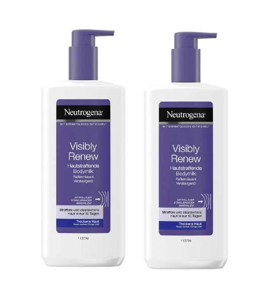 2xPack Neutrogena Visibly Renew Body Milk - 800 ml