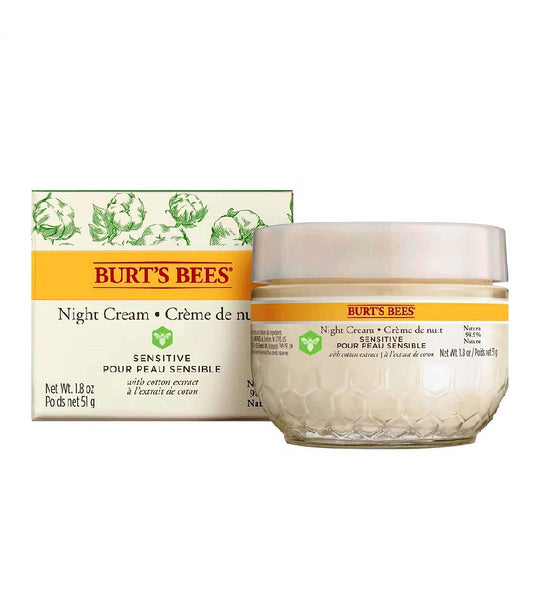 BURT'S BEES Sensitive Night Cream - 50 g