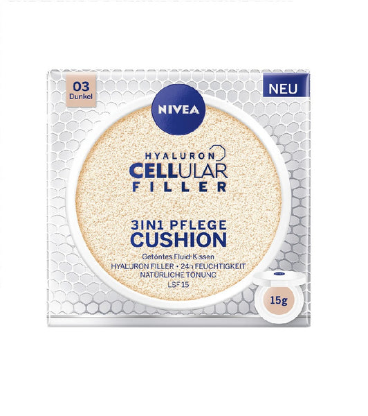 NIVEA Hyaluron Cellular Filler 3-in-1 Nursing Cushion Tinted Fluid Pads - Eurodeal.shop