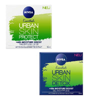NIVEA Essentials Urban Skin Protect 48h Moisture Day & Night Cream Set