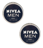 2X Cans of NIVEA MEN CREAM - 150 ml each-  Body Hands and Face - Eurodeal.shop