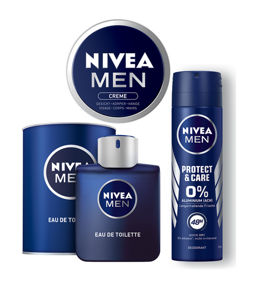 NIVEA MEN FRAGRANT 3-Piece MASCULINE FRAGRANCE SET -Exclusive! - Eurodeal.shop