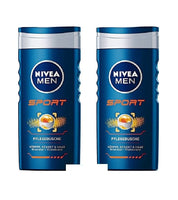 2x 250 ml NIVEA Men Nursing Shower SPORT- Body-Face-Hair-Gel - Eurodeal.shop
