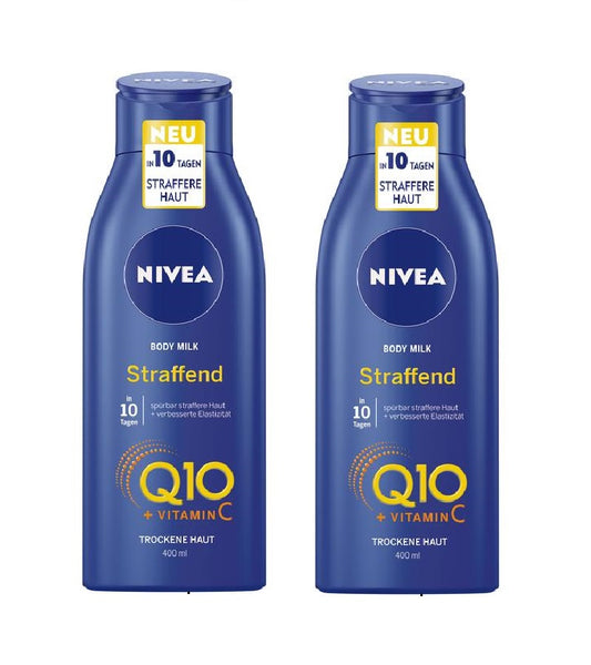 NIVEA Q10 Energy + Skin-Tightening Body Milk 400 ml - Eurodeal.shop
