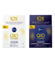 NIVEA Q10 Power ANTI-WRINKLE DAY + NIGHT Care Cream Set 50ml each