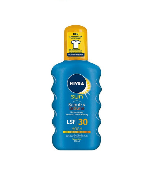NIVEA SUN Protection & Tanning Sunspray SPF 30 - Eurodeal.shop