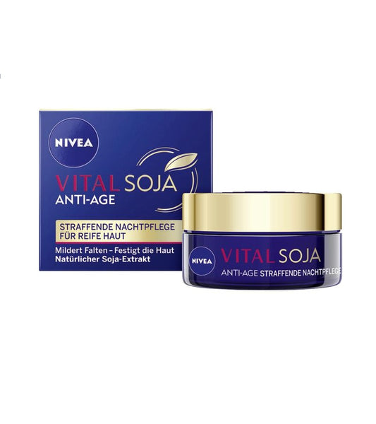 NIVEA Vital Soja Anti-Age Night Care for Mature Skin 50ml - Eurodeal.shop