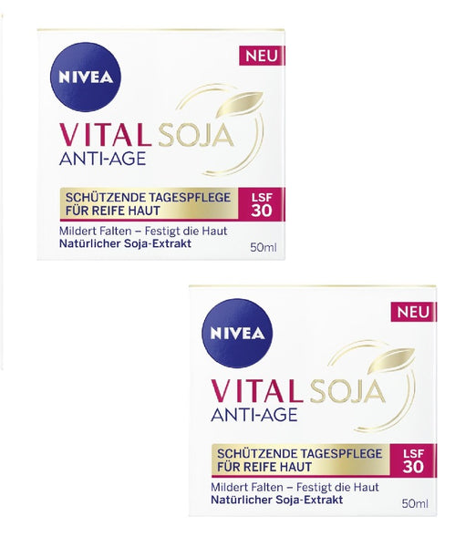 NIVEA Vital Soja Anti-Age Protective Day Care LSF 30 Cream - Eurodeal.shop