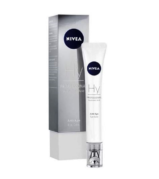 Nivea PADDING AND MOISTURIZING  PROFESSIONAL HYALURONIC ACID EYE CARE - 15 ml