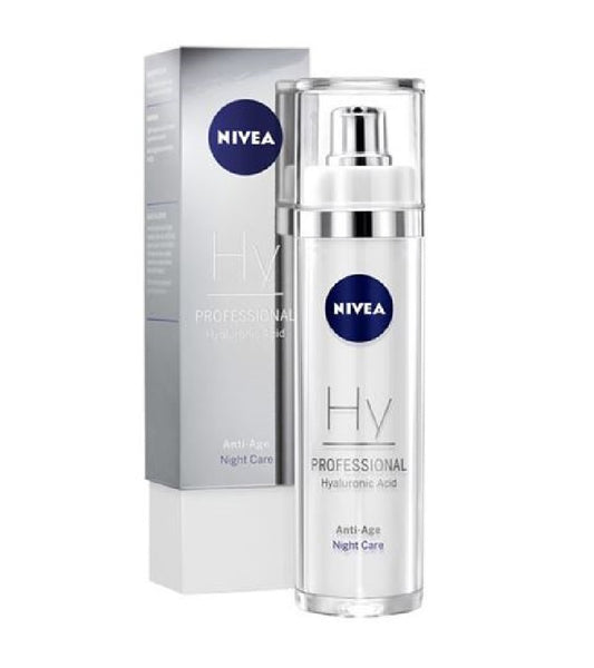Nivea PADDING AND MOISTURIZING  PROFESSIONAL HYALURONIC ACID NIGHT CARE -  50 ml