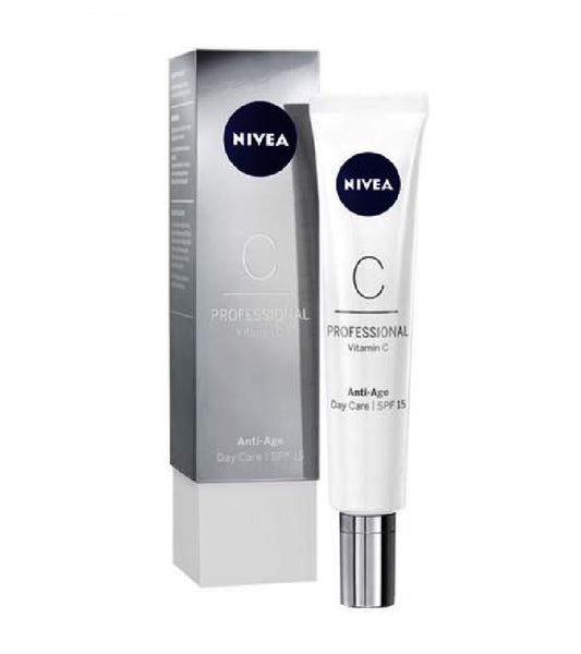 Nivea SKIN SMOOTHING AND PROTECTIVE  PROFESSIONAL VITAMIN C DAY CARE SPF15 - 50 ml