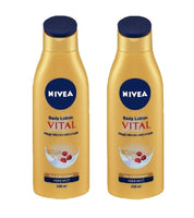 2xPack Nivea Vital Body Lotion Soy Proteins and Pomegranate Extract